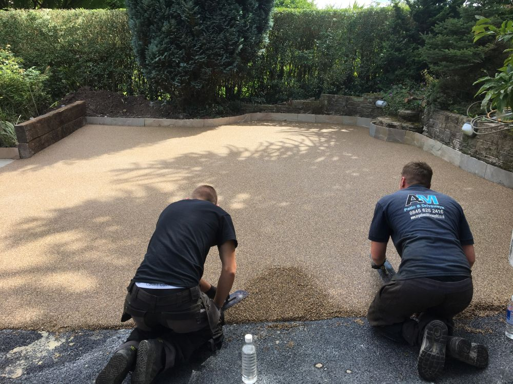 resin driveways installed in lytham