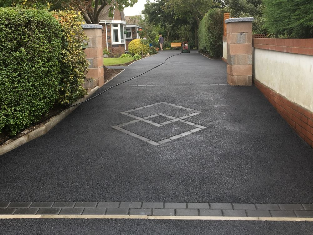 new tarmac driveways installation in blackpool